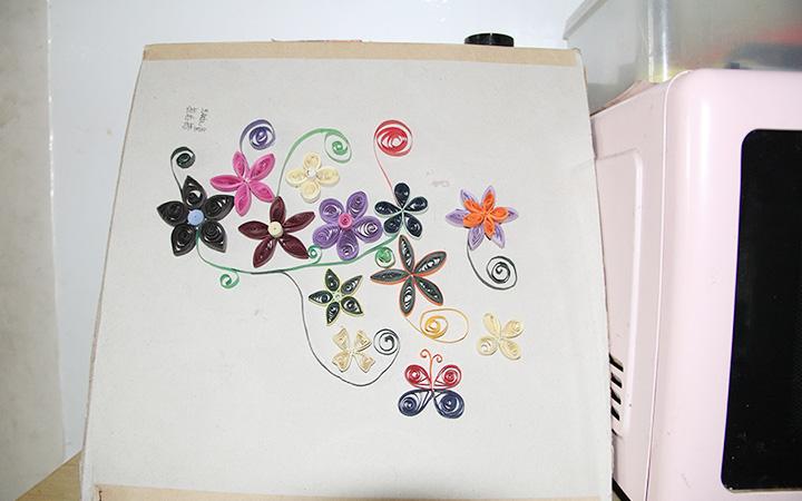 孩子们的手工画